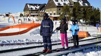 Més de 2.500 esquiadors el primer cap de setmana de la temporada