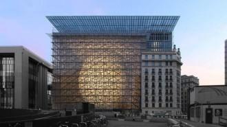 Vés a: La nova seu del Consell Europeu costarà 321 milions d'euros, un 34% més del previst