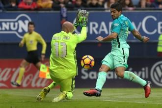 Vés a: Un gran Barça guanya contra l'Osasuna (0-3) i posa pressió al Madrid
