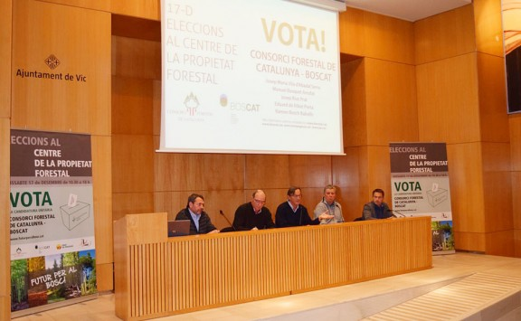 Consorci Forestal-Boscat aspira a guanyar de llarg les eleccions al CPF