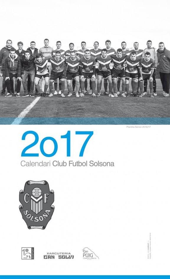 El primer equip del CF Solsona es despulla en un calendari