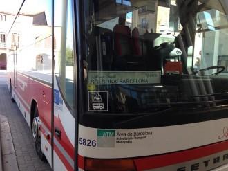 Més de 7800 viatgers han utilitzat la línia regular que uneix Solsona i Barcelona aquest 2016