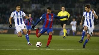 Vés a: El Barça guanya la Reial Societat 0-1 i encarrila el pas cap a les semifinals de la Copa