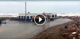 Vés a: Les imatges que mostren les afectacions del temporal a les Terres de l'Ebre
