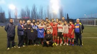 Vés a: Dol per la mort d'un futbolista de 15 anys de la Penya Blaugrana Sant Cugat
