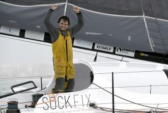 Vés a: Didac Costa esdevé el primer regatista català que finalitza la Vendée Globe, la volta al món sense escales