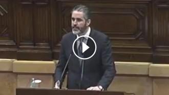 Vés a: El diputat de C's, Jorge Soler, encén el Parlament amb una cançó de «Monty Python»