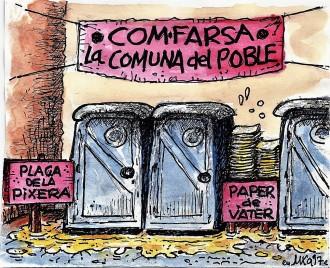 ...l'ajuntament tranquil·litza les queixes dels veïns de la Plaça Ribera...