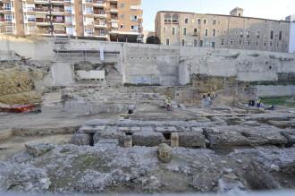 Vés a: Les excavacions al teatre romà de Tarragona descobreixen edificis i estructures prèvies al monument