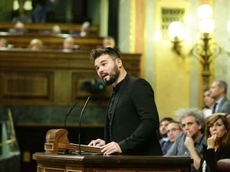 Vés a: Rufián, a Rajoy: «Tregui les seves brutes mans de les institucions catalanes»