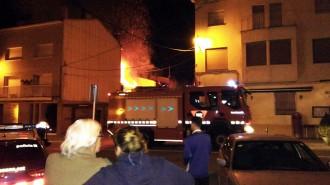 Vés a: Aparatós incendi a Guardiola de Berguedà per l'encesa d'una xemeneia