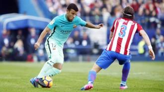 Vés a: El Barça guanya al Calderón i s'aferra a la lliga
