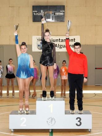 Bons resultats dels patinadors del  Solsona Patí Club a la 1a volta d'iniciació a Alguaire