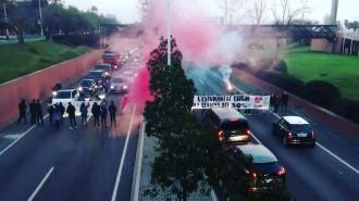 Vés a: Una protesta d'estudiants talla de manera puntual la Ronda Litoral, Gran Via i Diagonal