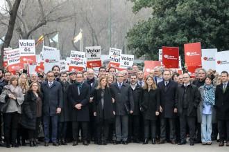 Vés a: «Venim a defensar les urnes»: el sobiranisme acompanya Homs al Suprem