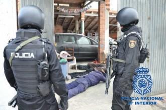 Vés a: Desmantellen un laboratori de producció de cocaïna a  Reus