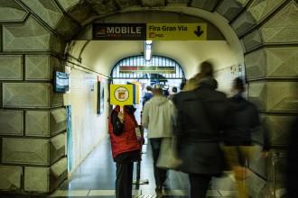 Vés a: Jornada modèlica al metro: «L'organització del Mobile ens aniria molt bé cada dia»