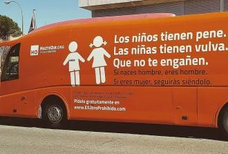 Vés a: Hazte Oír tornarà a fer circular el seu polèmic bus amb una nova campanya