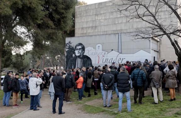 Sabadell rendeix homenatge a Xavier Vinader