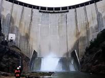 L'ACA realitza una inspecció de seguretat a la presa de la Llosa del Cavall