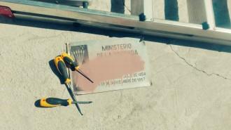 Vés a: La Generalitat multarà els propietaris dels edificis amb plaques franquistes l'any vinent