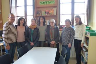 Al CFA del Solsonès gaudim de la visita de l'escriptora M. Mercè Roca