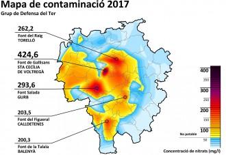 Vés a: Enguany les fonts d'Osona i el Lluçanès doblen en nitrats