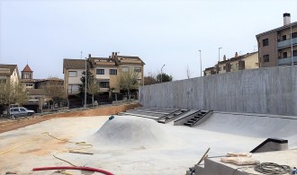 La construcció de l'skatepark de Solsona es troba a la recta final