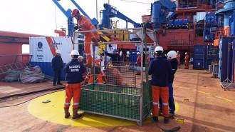 Vés a: Rescatat el cos del segon mariner desaparegut en el pesquer enfonsat a Barcelona