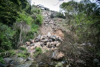 Vés a: Castellfollit de la Roca reclama «mesures d'urgència» després d'un nou despreniment a la cinglera