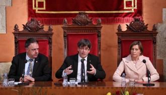 Vés a: Puigdemont promet «persistir» davant les amenaces de l'Estat com van fer les Bases de Manresa