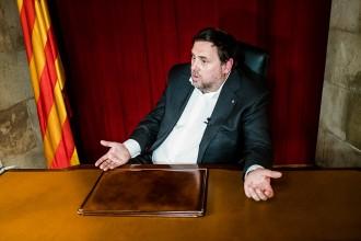 Vés a: Junqueras: «Per respecte al Pacte Nacional pel Referèndum, donem-li temps abans de fixar data»