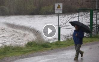 Vés a: VÍDEO El Ter es desborda a causa de les precipitacions de les últimes hores