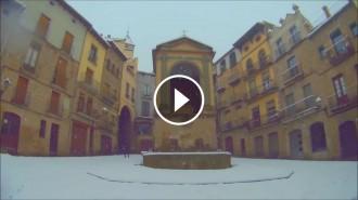 VIDEO Racons de Solsona nevats (25 de març de 2017)