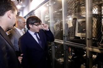 Vés a: Puigdemont condemna l'intent d'ocupació de la seu del PP i insisteix que «no ajuda» al procés