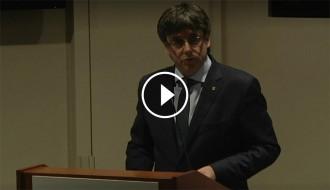 Vés a: VÍDEO en DIRECTE Puigdemont explica el procés català a Harvard