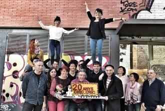 Vés a: El Circ Cric celebra vint anys «desafiant el sentit comú» al Montseny