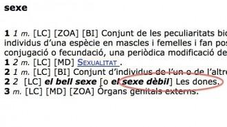 Vés a: Una campanya perquè l'IEC no identifiqui les dones amb el «sexe dèbil» recull 9.000 firmes