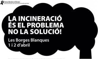 Vés a: Les Borges Blanques acull la protesta contra la incineradora de Juneda