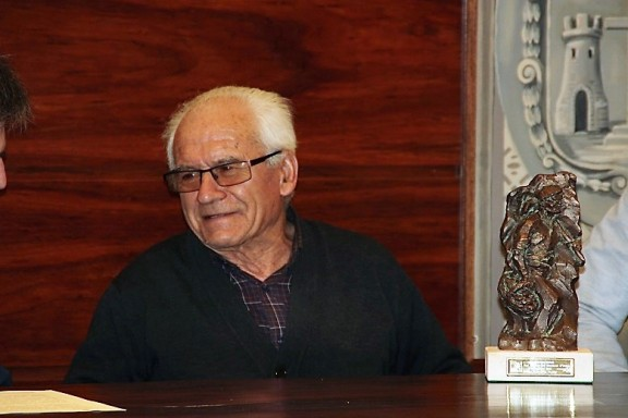 Premi Bufet 2017 a Joan Orrit Malé de Cal Tafarot del Montnou d'Odèn