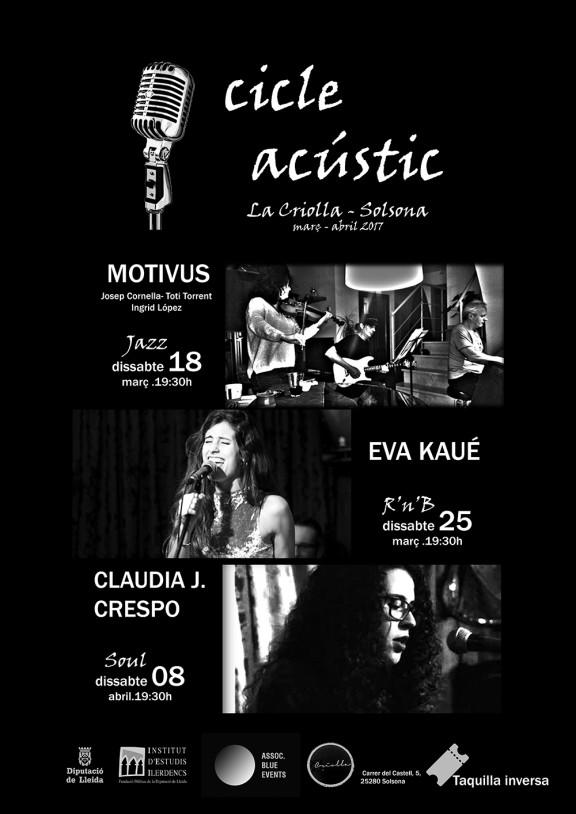 Cicle Acústic de concerts a Solsona