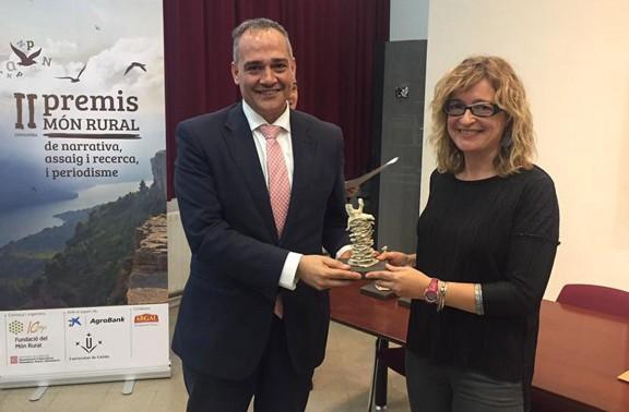 Vés a: Miracle Sala i Santi Valldepérez guanyen els premis Món Rural de narrativa i periodisme