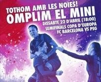 La PB Solsona i comarca organitza un desplaçament per les semifinals de la Copa d'Europa Femení