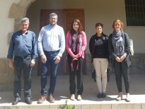Visita a Odèn de la Delegada del Govern a la Catalunya Central