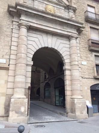La pilona del portal del Pont de Solsona s'activarà dilluns  de la setmana vinent