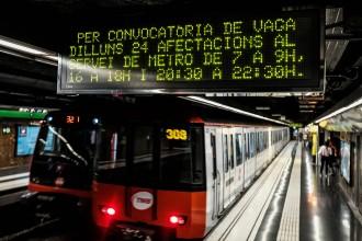 Vés a: El metro fa aturades parcials els dilluns a partir d'aquesta setmana