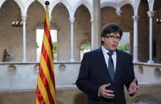 Vés a: Puigdemont: «Si la Unesco reconeix Sant Jordi, no serà pels hereus dels qui perseguien el català»