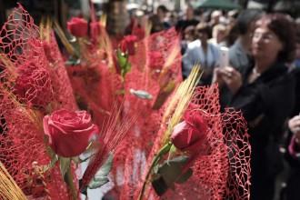 Els floristes preveuen una venda de sis milions de roses aquest Sant Jordi