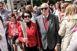Vés a: El gomet verd del referèndum s'apodera de Sant Jordi