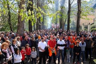Vés a: Unes 300 persones defensen la caça a Camprodon, al Ripollès